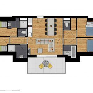 Comfort Suite - 8p | 4 Bedrooms