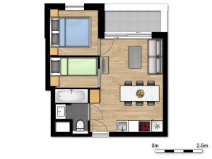 Comfort Suite - 5p   Bedroom - Sleeping corner