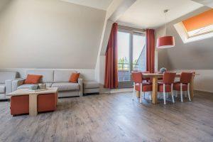Comfort Suite - 6p   Bedroom - Sleeping corner - Sofa bed
