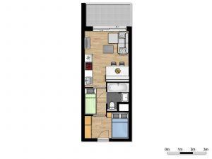 Cosy Suite - 5p   2 Sleeping corners