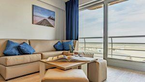 Essential Suite - 4p   Sleeping corner - Sofa bed   Balcony - Sea view