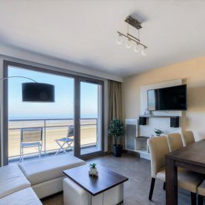 Apartment for 4 people with balcony with seaview