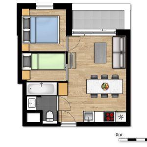 Comfort Suite - 5p | Bedroom - Sleeping corner