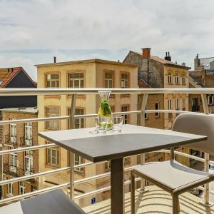 Essential Suite - 2p | Double bed | Balcony - City view