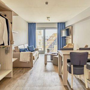 Essential Suite - 4p | Sleeping corner - Sofa bed | Balcony - City view