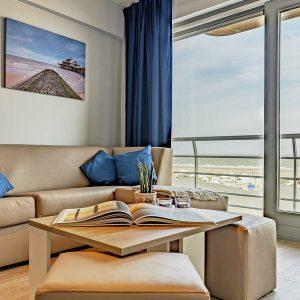 Essential Suite - 4p | Sleeping corner - Sofa bed | Balcony - Sea view